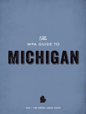 cover image of The WPA Guide to Michigan